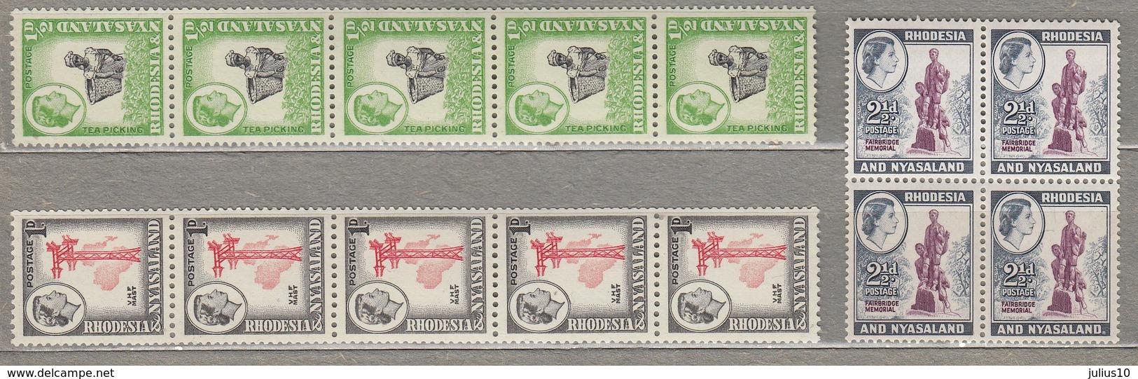 RHODESIA NYASALAND 1959 MNH (**) #23453 - Rhodesia & Nyasaland (1954-1963)