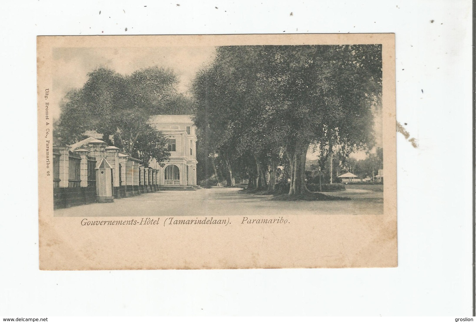 PARAMARIBO (SURINAME)   GOUVERNEMENTS-HOTEL (TAMARINDELAAN) - Surinam
