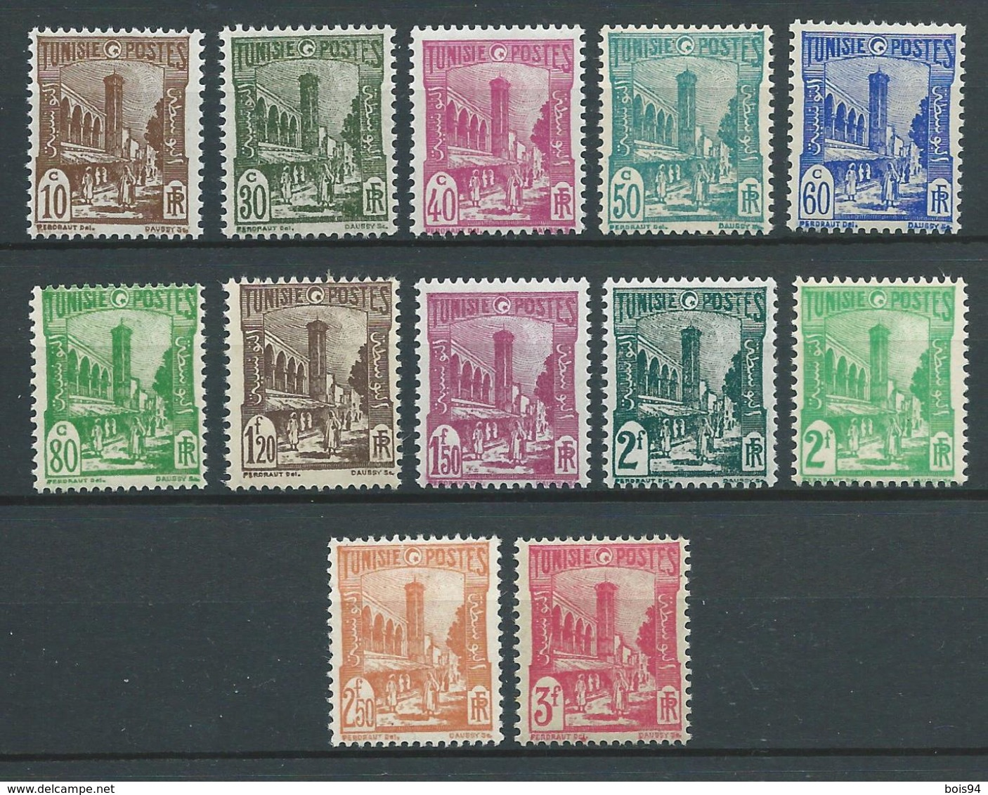 TUNISIE 1945/49 . N°s 273 à 281A + N°s 283 Et 285 . - Tunisie (1888-1955)