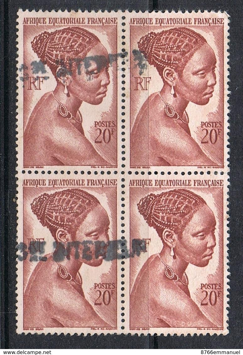 A.E.F. N°225 En Bloc De 4 - A.E.F. (1936-1958)