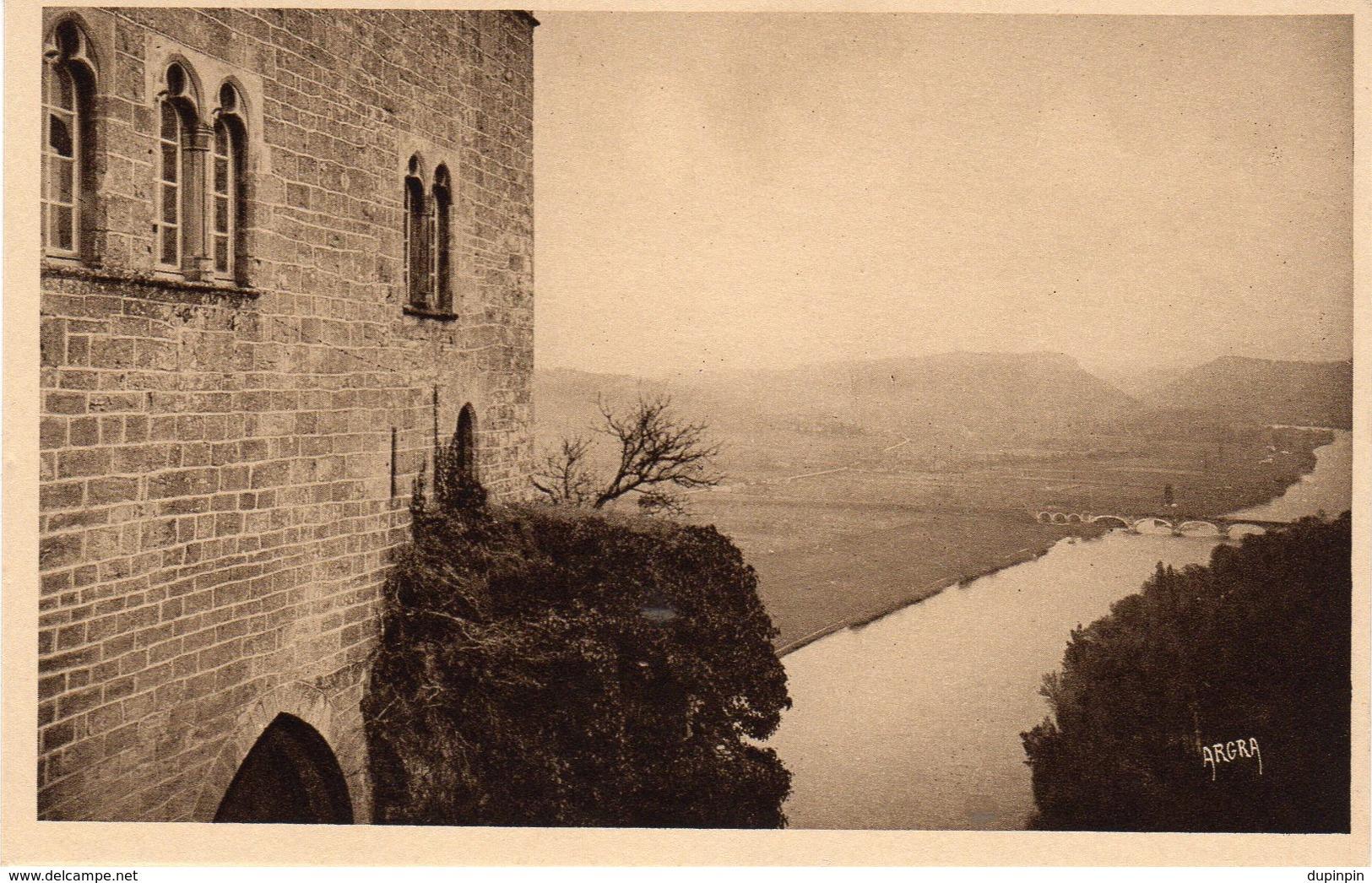 BEYNAC Château Féodal - Vue Prise De La Terrasse Sur La Dordogne - Sonstige Gemeinden