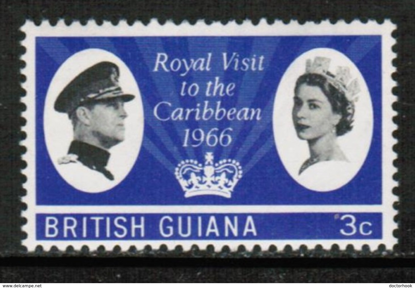 BRITISH GUIANA   Scott # 299* VF MINT LH (Stamp Scan # 432) - British Guiana (...-1966)