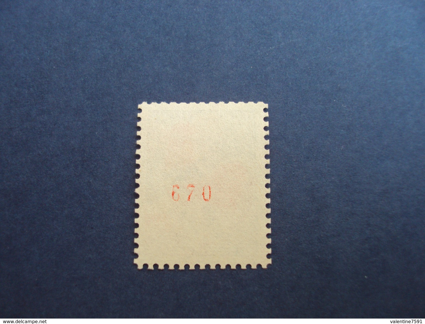 """1962-  Coq De  Descaris, N° 1331 B    """"30c""""  Oblitéré  -  Numéro Rouge 670   -   Cote 13.50  Net   4.5 - France"""