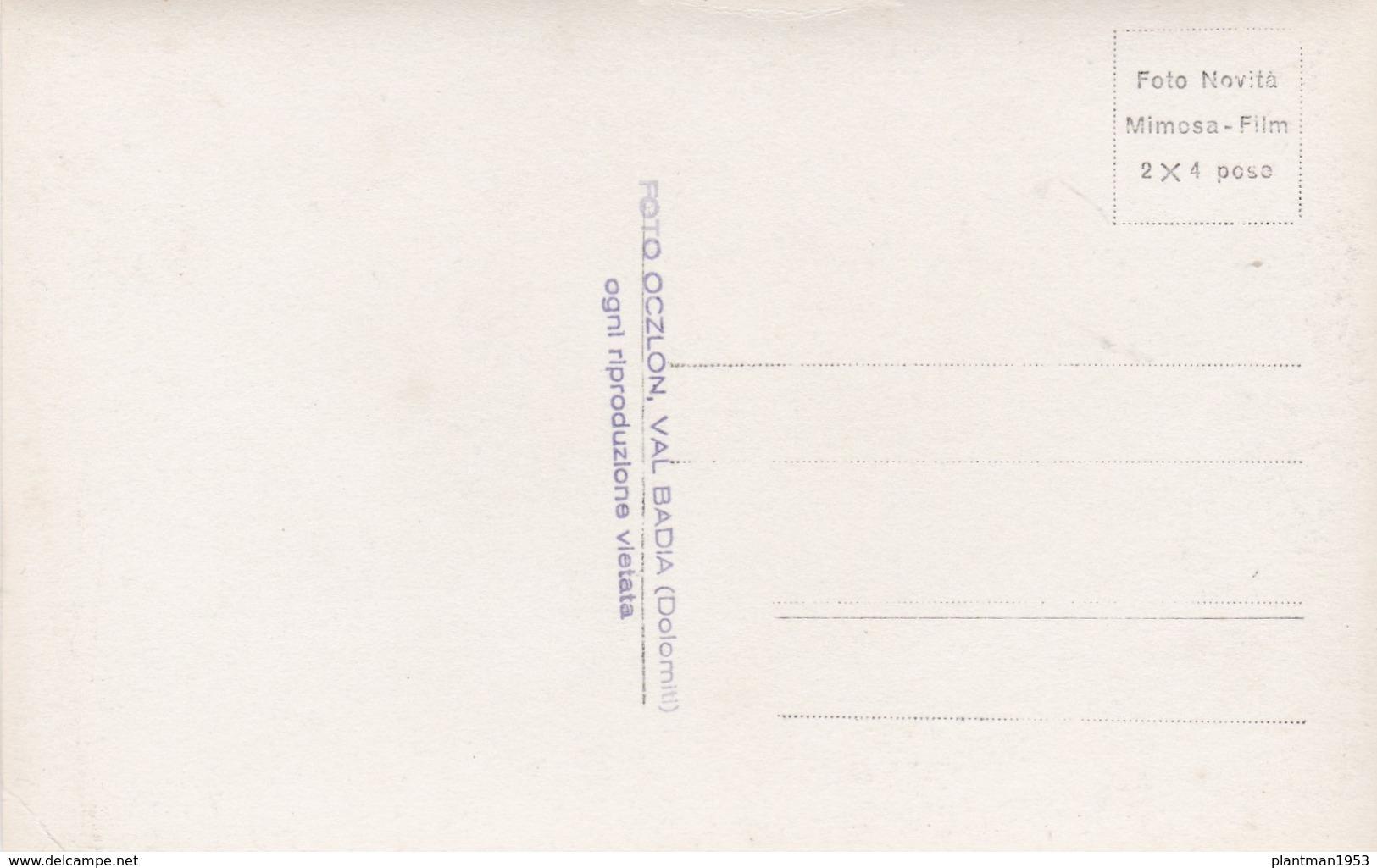 Old Post Card Of Hotel Albergo Gader,Longega,Italy,R71. - Italy