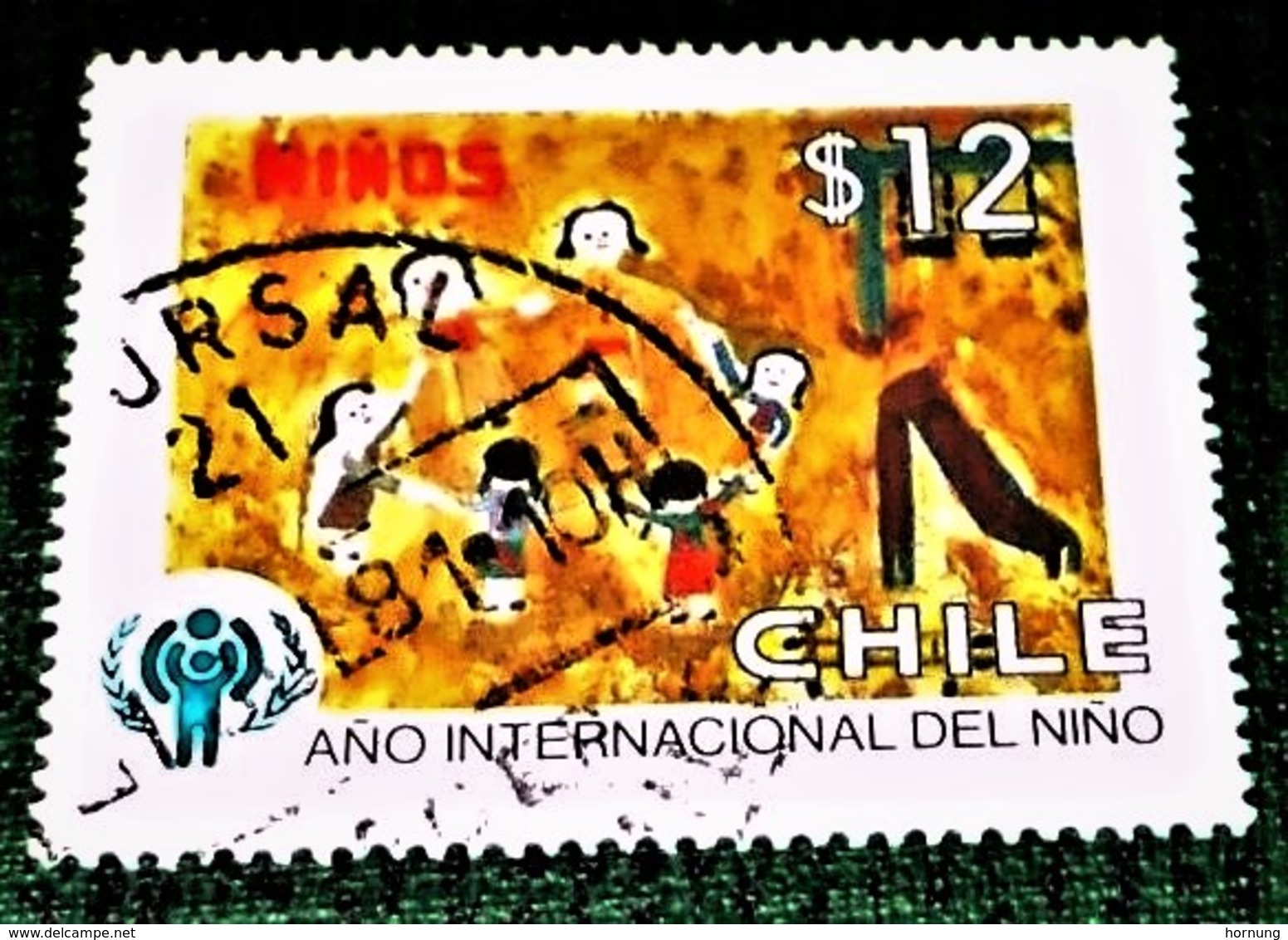 Chile, 1979, International Year Of Kids.  ( Rare- Interesting ). ! Michel # 915 - Muttertag