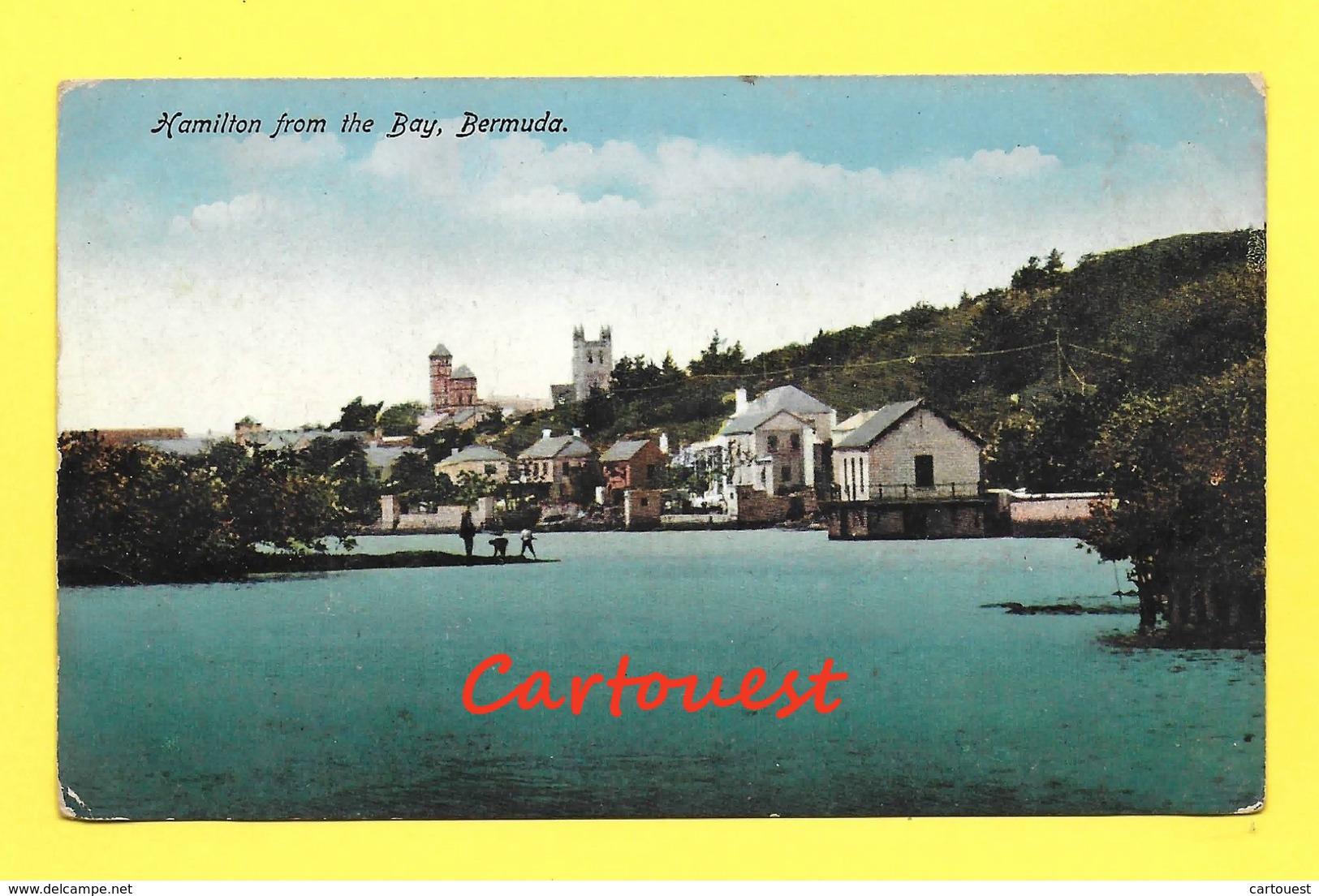 CPA Bermuda Hamilton From The Bay - Bermudes