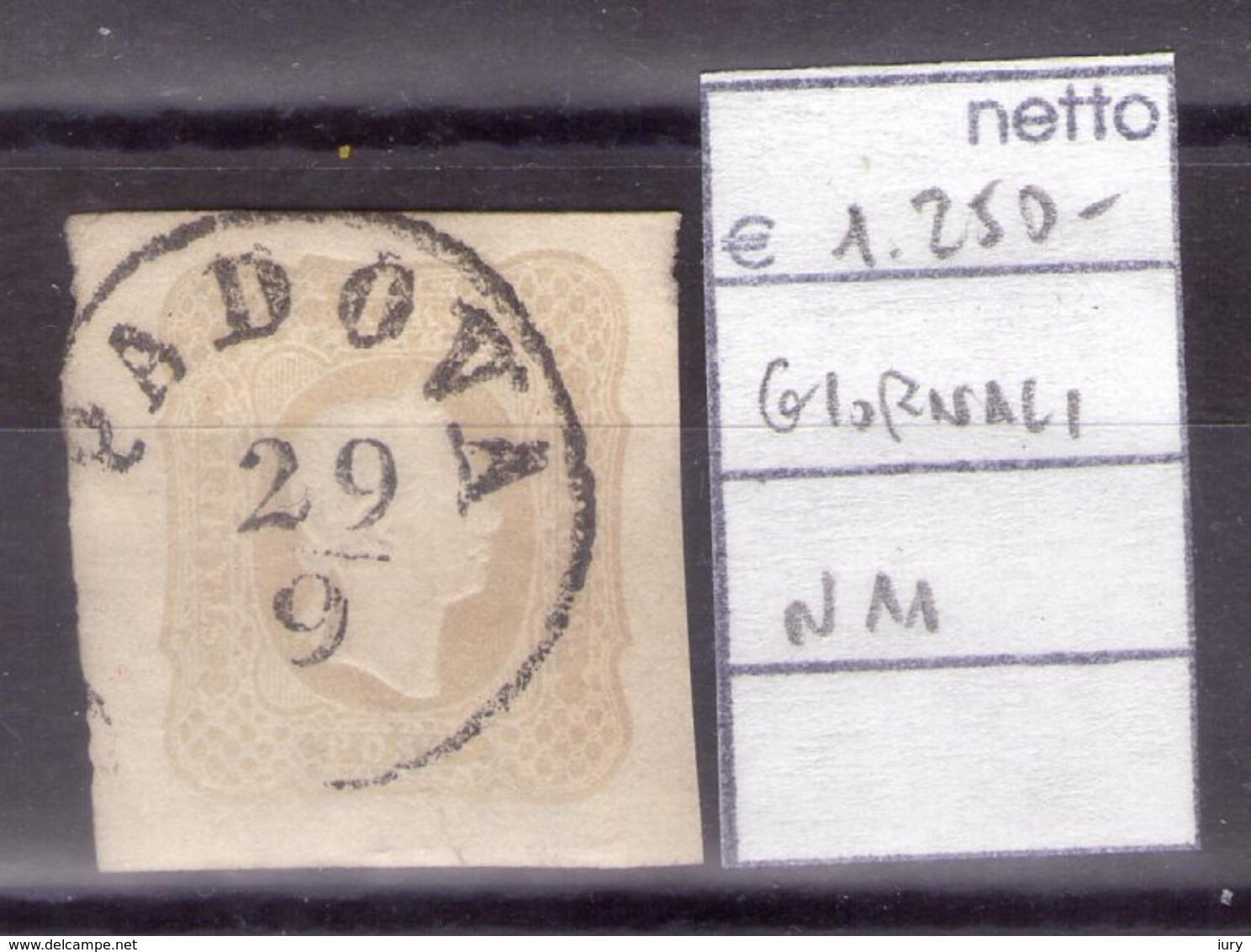 Francobollo Per Giornali N°11 -PADOVA 29/9 -Bei Margini Abbondanti-VEDERE FOTO- - Lombardo-Veneto