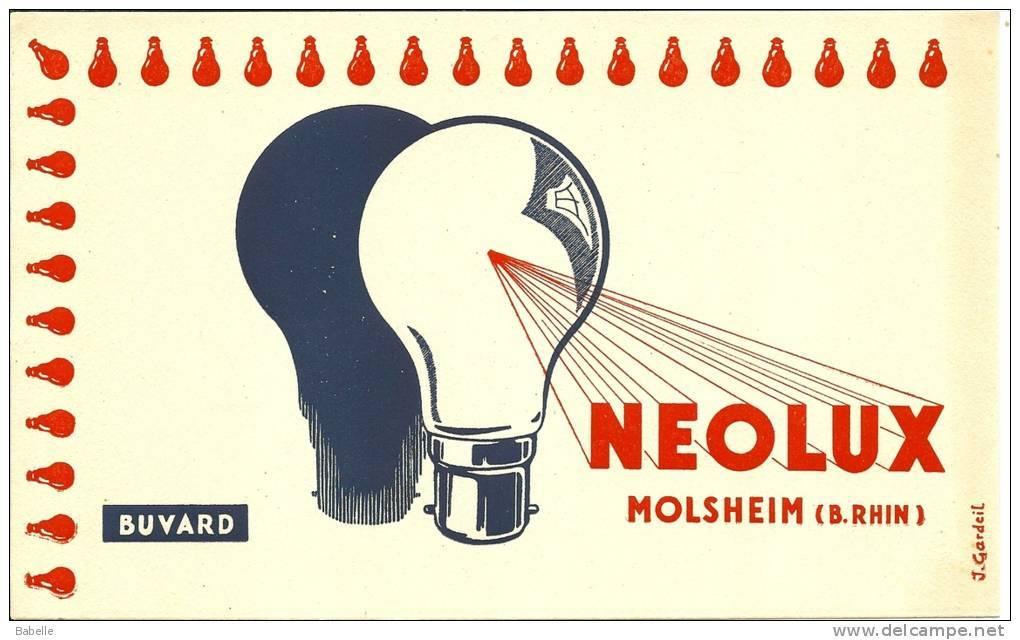 "Buvard ""NEOLUX"" Molsheim Bas Rhin - Electricité & Gaz"