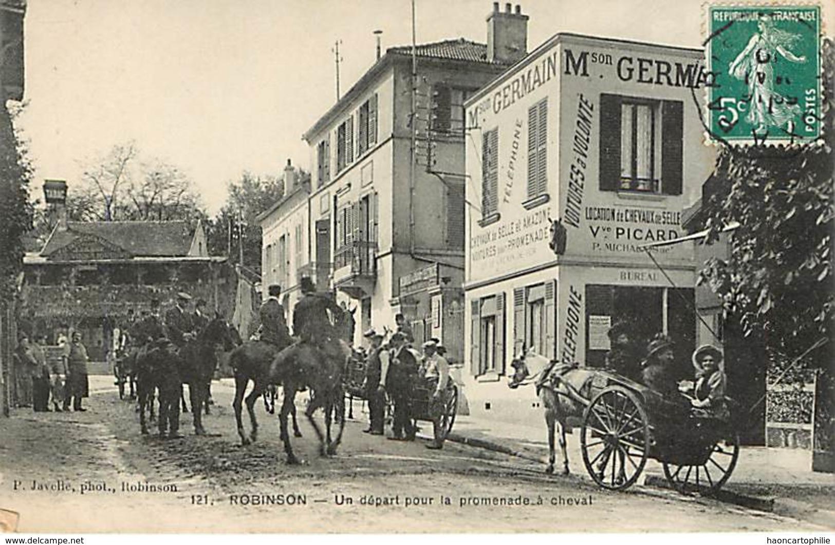 92 : Robinson Un Départ Pour La Promenade - France
