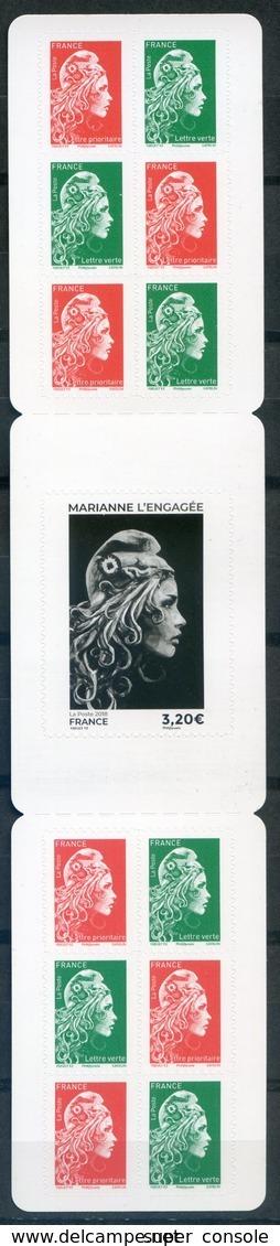 FRANCE 2018   Marianne L'engagée   Adhésif - Usage Courant