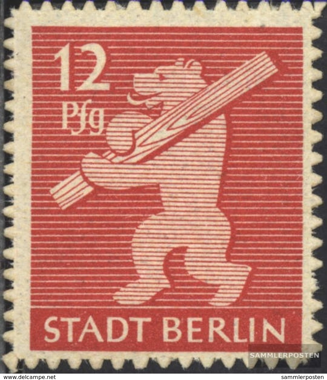Sowjetische Zone (All.Bes.) 5B Con Fold 1945 Berlino Orso - Soviet Zone