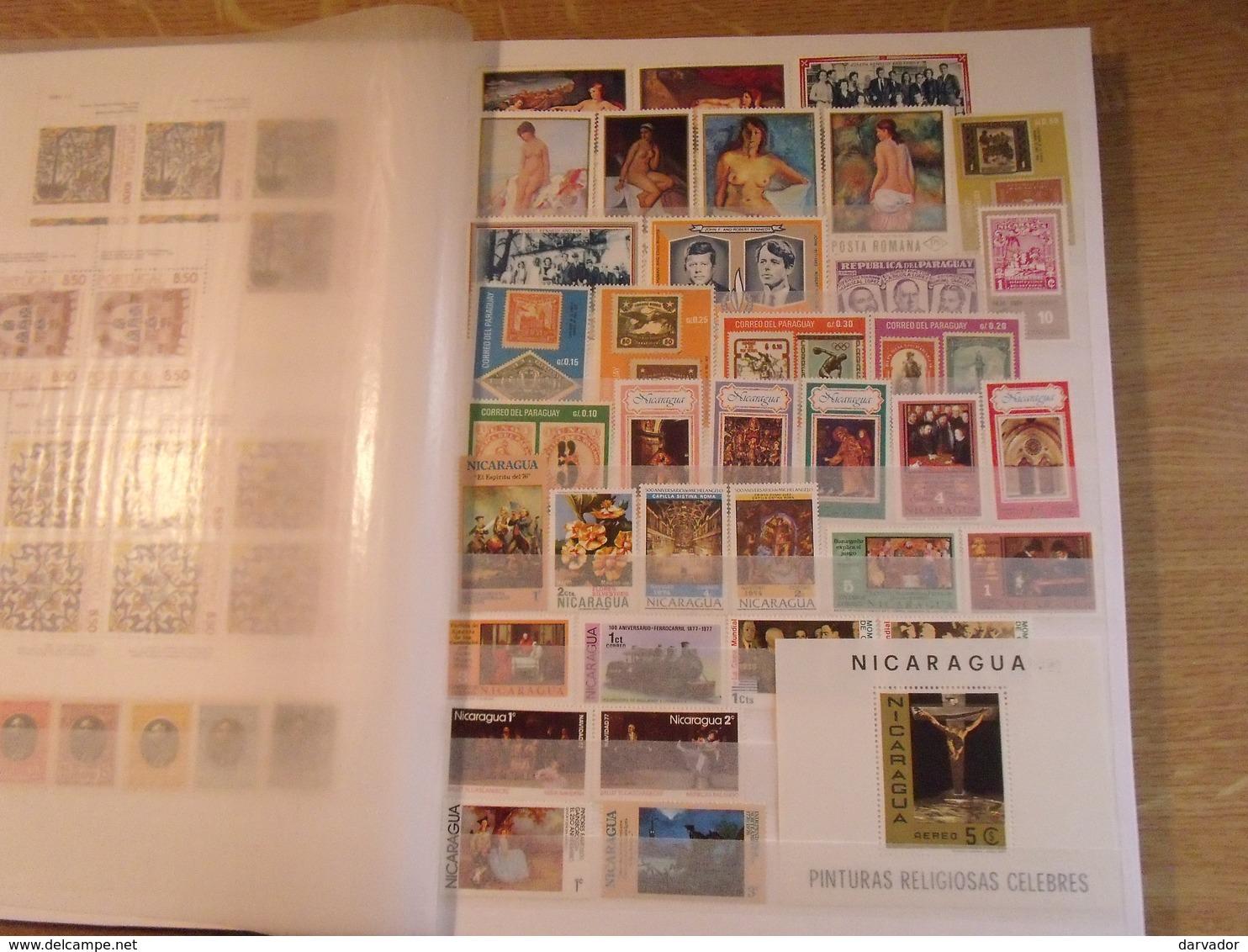 Album Q / Collection  De Timbres DIVERS MONDE Dont Blocs Tous Neuf ** MNH Superbe - Timbres