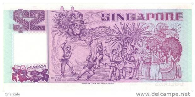 SINGAPORE P. 28 2 D 1992 UNC - Singapour