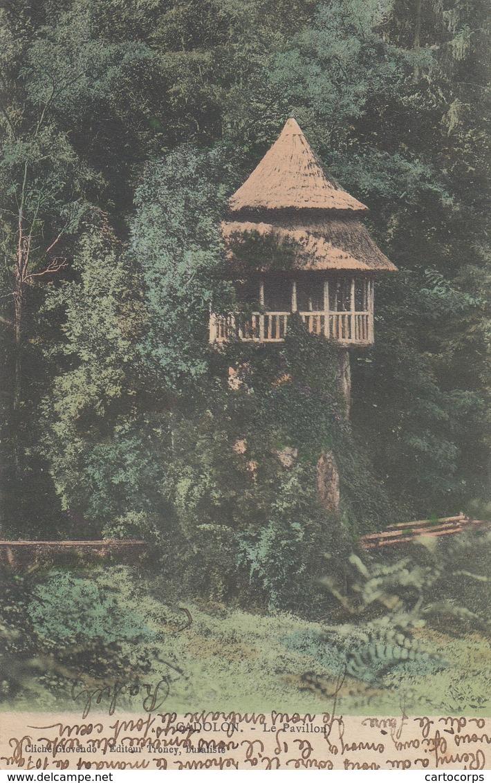 42 - Cadolon - Le Pavillon - Carte Colorisée - France
