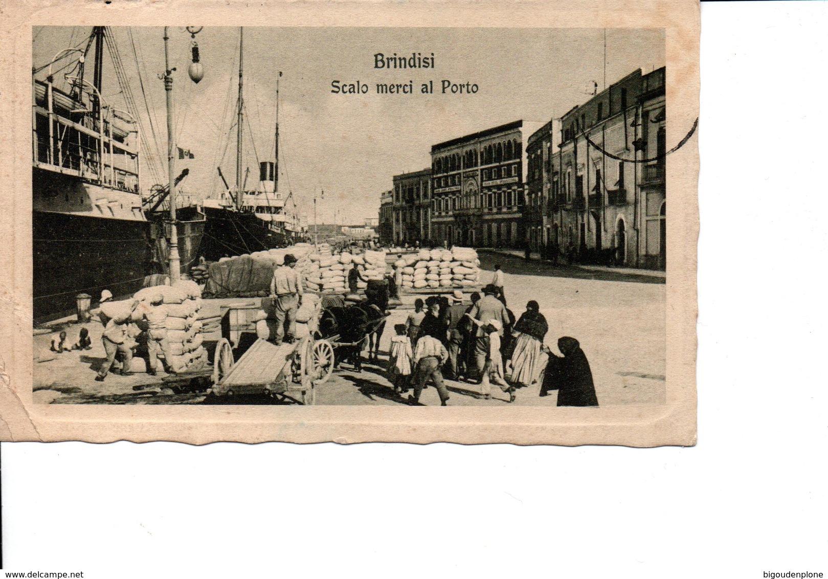 BRINDISI Scalo Merci Al Porto - Brindisi