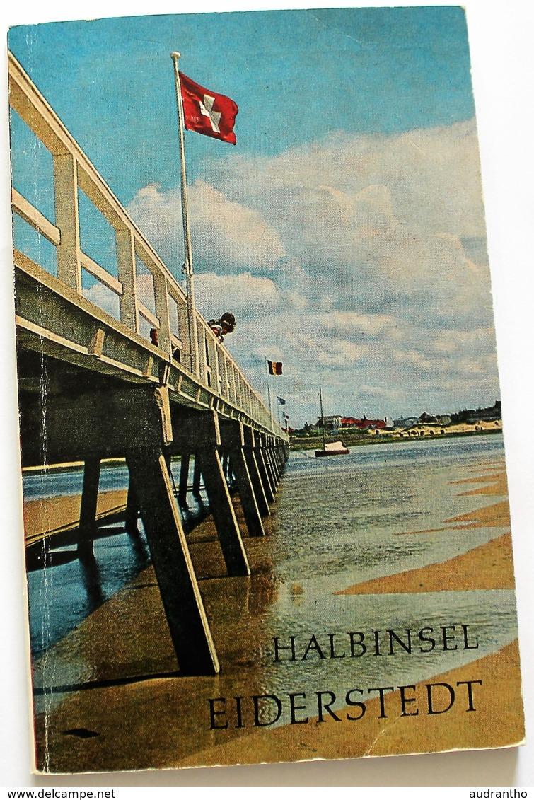 Livre Eiderstedt Halbinsel Walter Fielder 1971 - Livres, BD, Revues