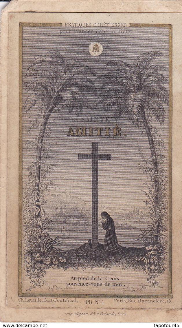 Ancien Canivet Image Pieuse Composé (Réduction Exceptionnel Sur Le Port Pour 5 Canivets Moins 1 € - Religion & Esotérisme