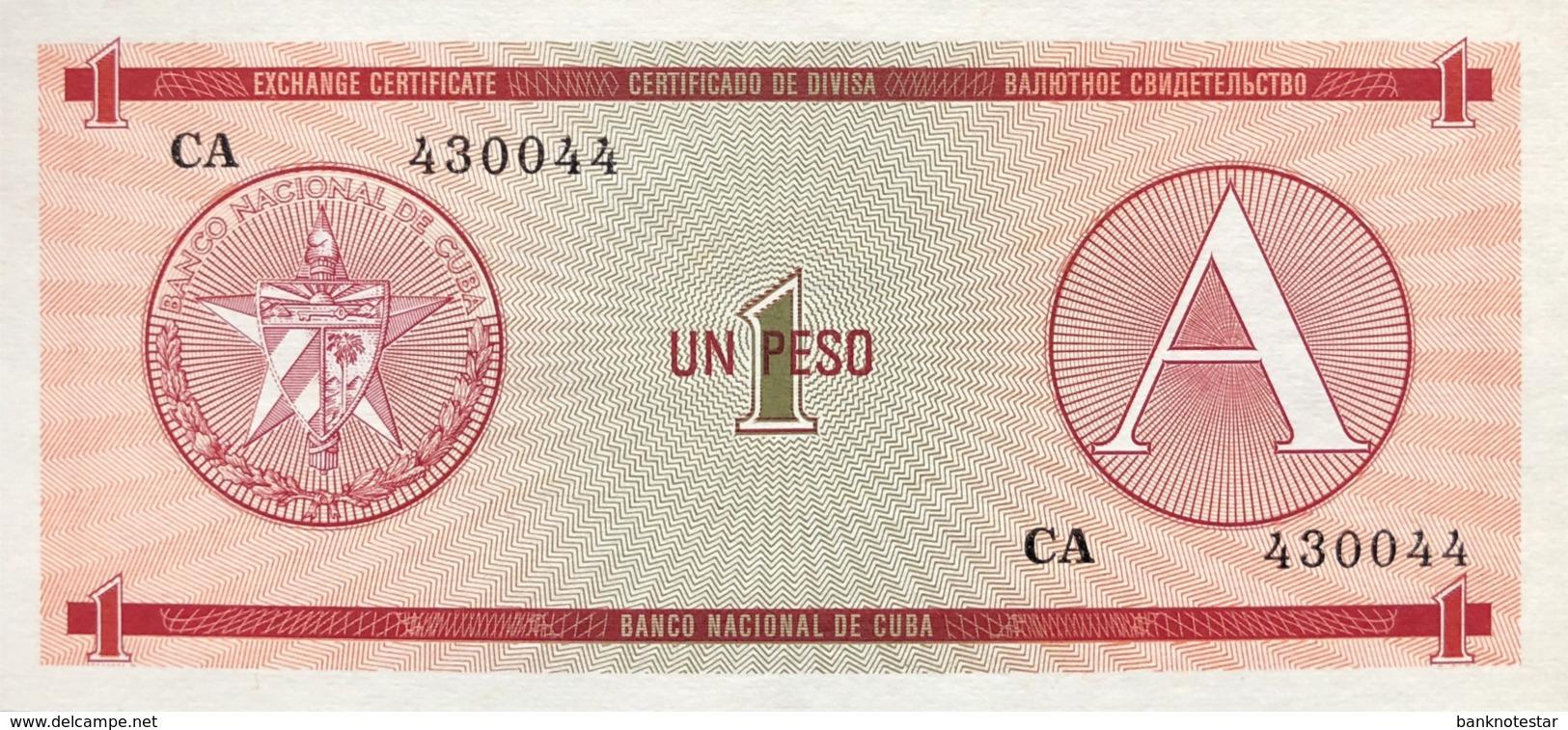 Cuba 1 Peso, P-FX1 (1985) - UNC - Cuba