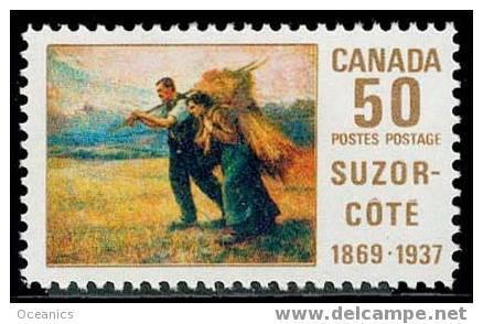 Canada (Scott No. 492 - Peinture De / Suzor Cote / Painting) [**] - 1952-.... Règne D'Elizabeth II