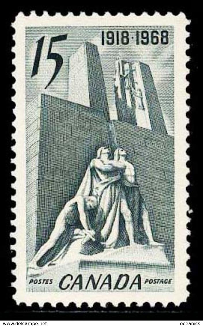 Canada (Scott No. 486 - Monument De / Vimy / Memorial) (**) - 1952-.... Règne D'Elizabeth II