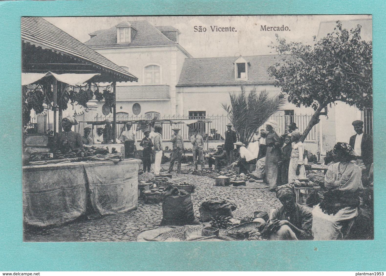 Old Post Card Of São Vicente, Cape Verde ,R72. - Cap Vert