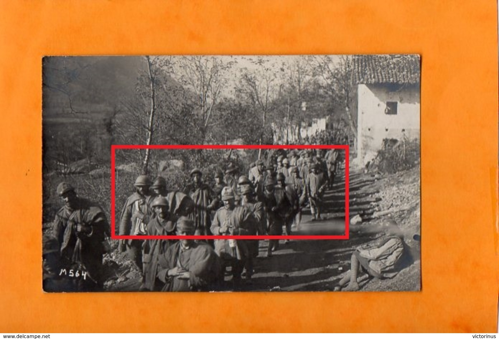 ITALIENISCHE  GEFANGENE  BEI  TOLMEIN   -  Oktobre 1917  -  (  Prisonniers Italien à Tolmein - Isonzo ) - Oorlog 1914-18