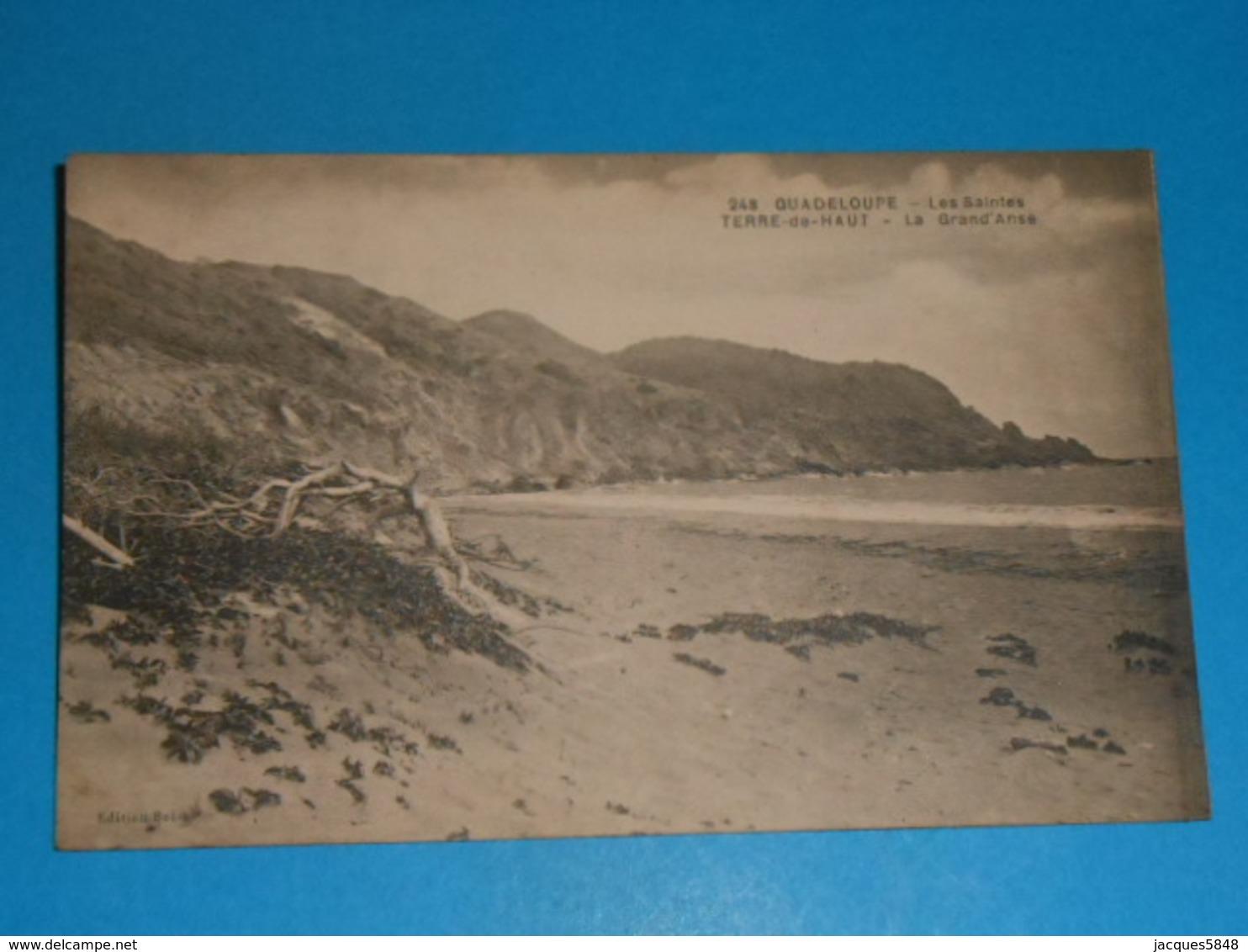 Guadeloupe ) Les Saintes N° 248 - Terre De Haut - La Grand'anse : Année : EDIT : Boisel - Guadeloupe