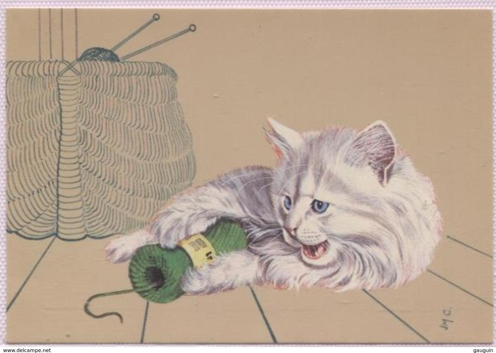 CPM - CHATS - ILLUSTRATION CANOEN - Edition Decoreve - Katten