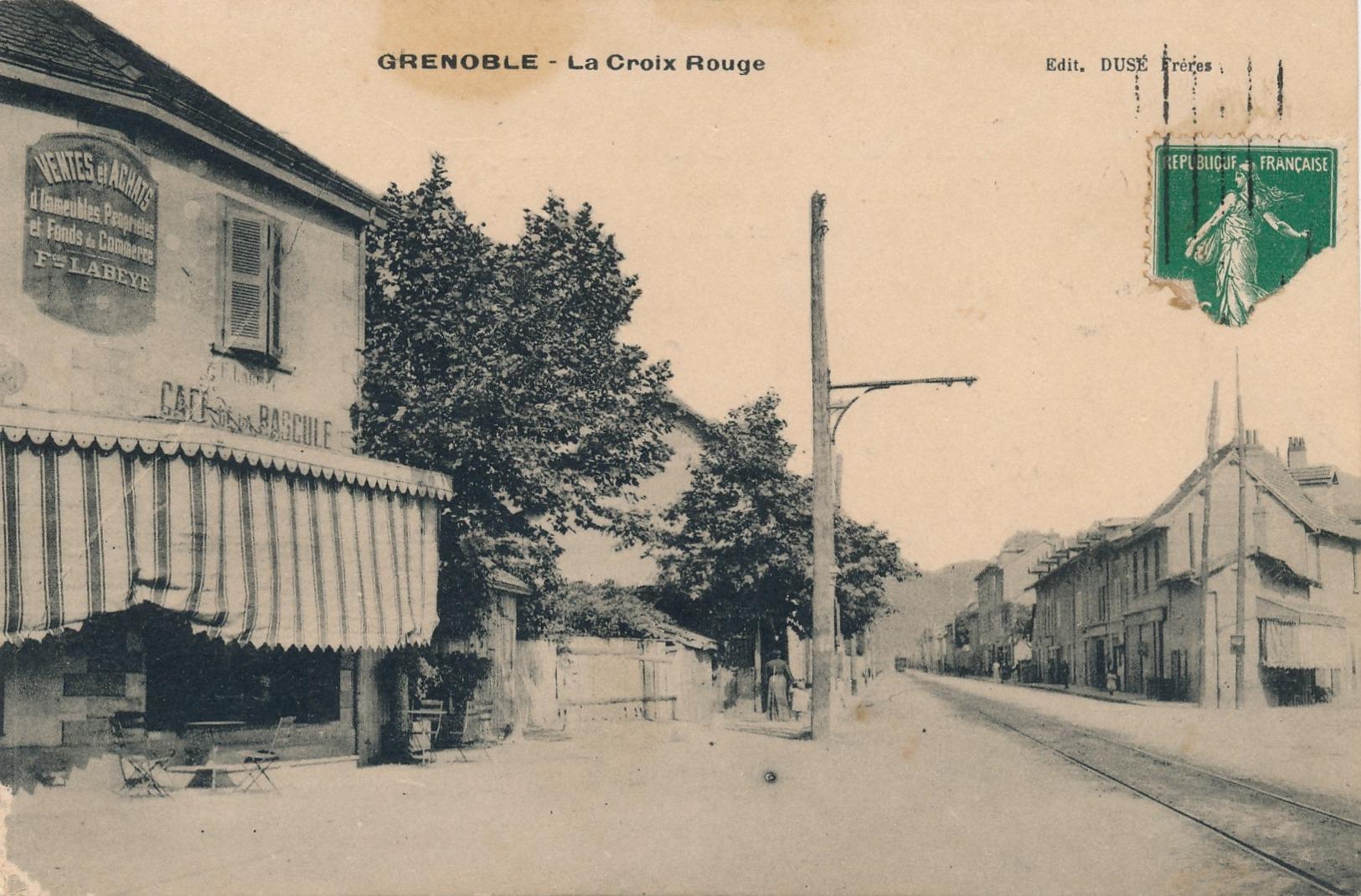 H197 - 38 - GRENOBLE - Isère - La Croix-Rouge - Grenoble