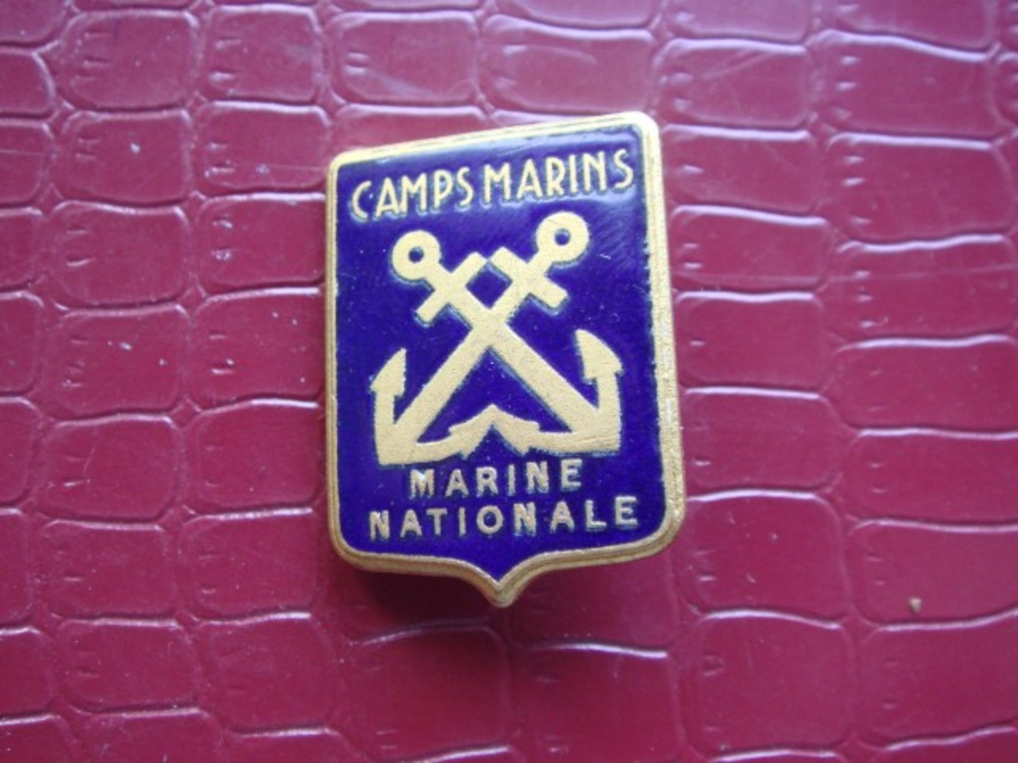 Marine Nationale . CAMPS MARINS - Marine