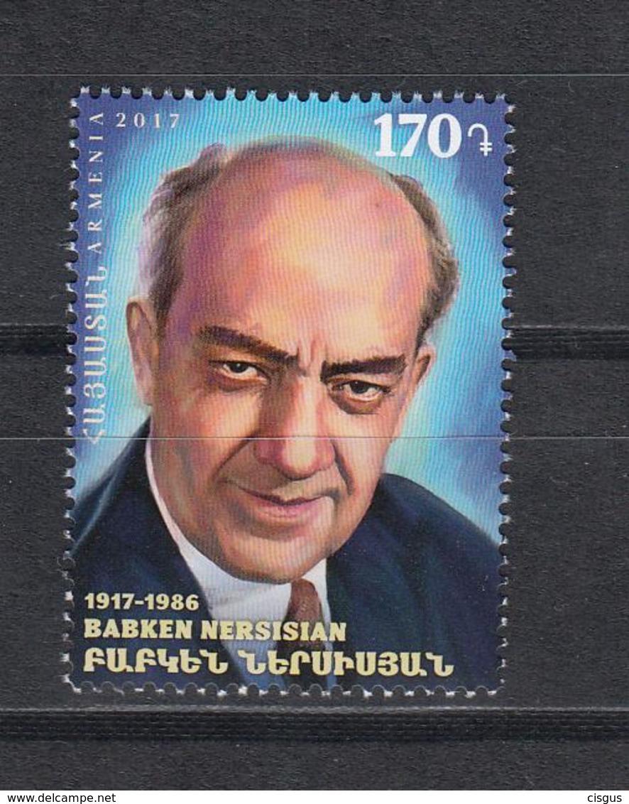 Armenia Armenien MNH** 2018 Actor Bakken Mi 1060 - Arménie