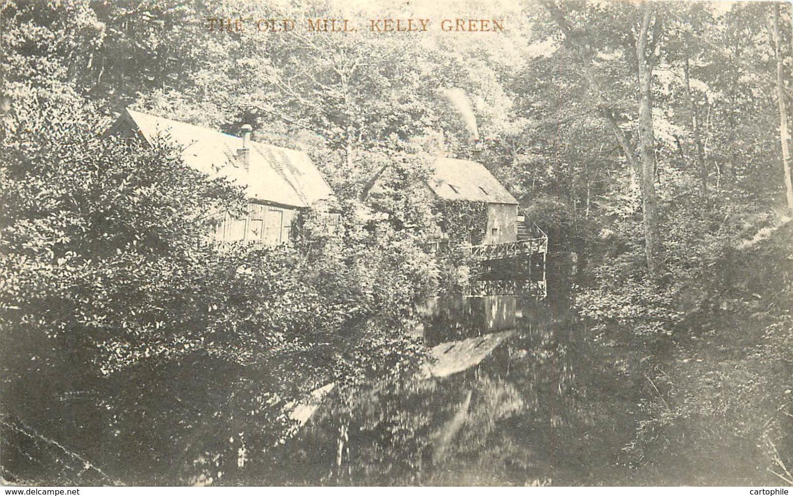 UK - Scotland - Ayrshire - The Old Mill Kelly Green In 1910 - Ayrshire