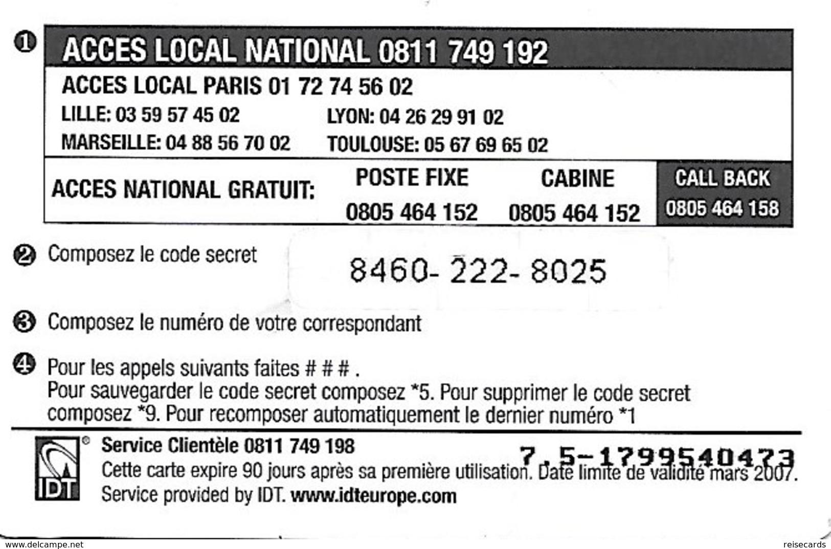 France: IDT Red Maghreb 03.07 - Frankreich
