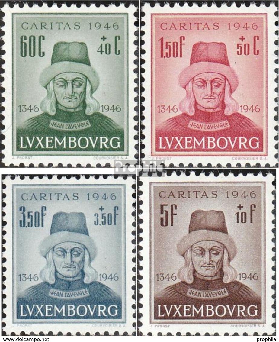 Luxemburg 413-416 (kompl.Ausg.) Postfrisch 1946 Johann Der Blinde - Luxemburg