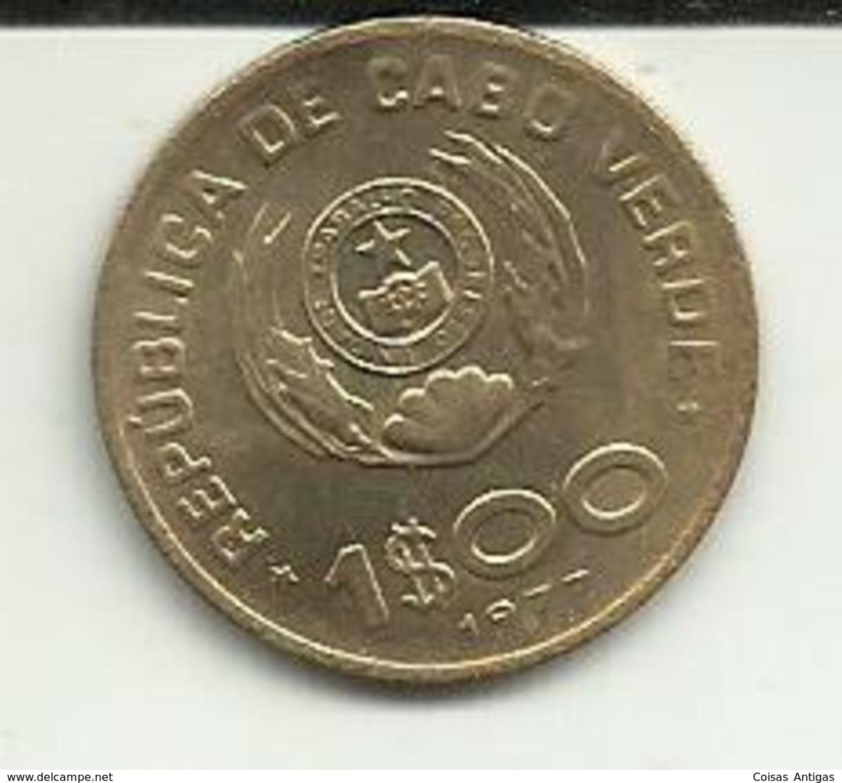 1 Escudo 1977 Cabo Verde - Cap Vert