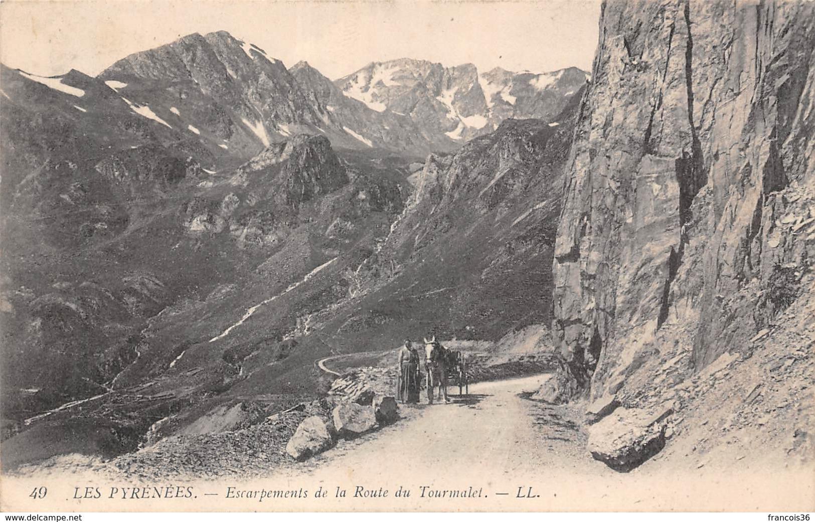 Lot De 51 CPA Du Col Du Tourmalet Près Bagnères De Bigorre (65) - Très Bon état - Bagneres De Bigorre
