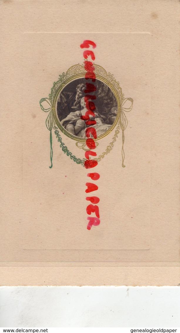 86- CUHON - RARE MENU MME GIROIR CUISINIERE-CUISINE 15 SEPTEMBRE 1945- IMPRIMERIE GIROIRE A MIREBEAU - Menus