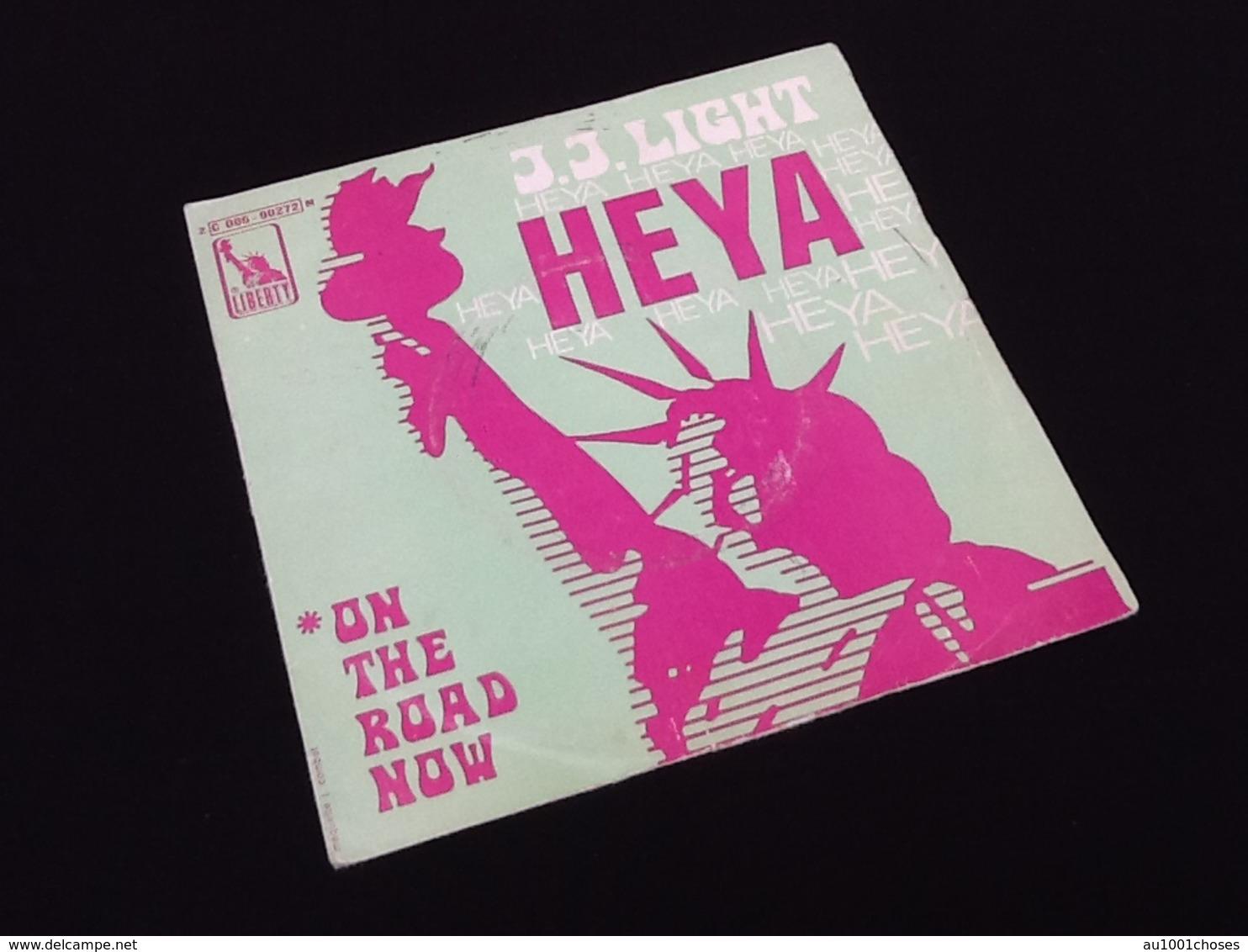 Vinyle 45 Tours J.J Light Heya (1969) - Rock