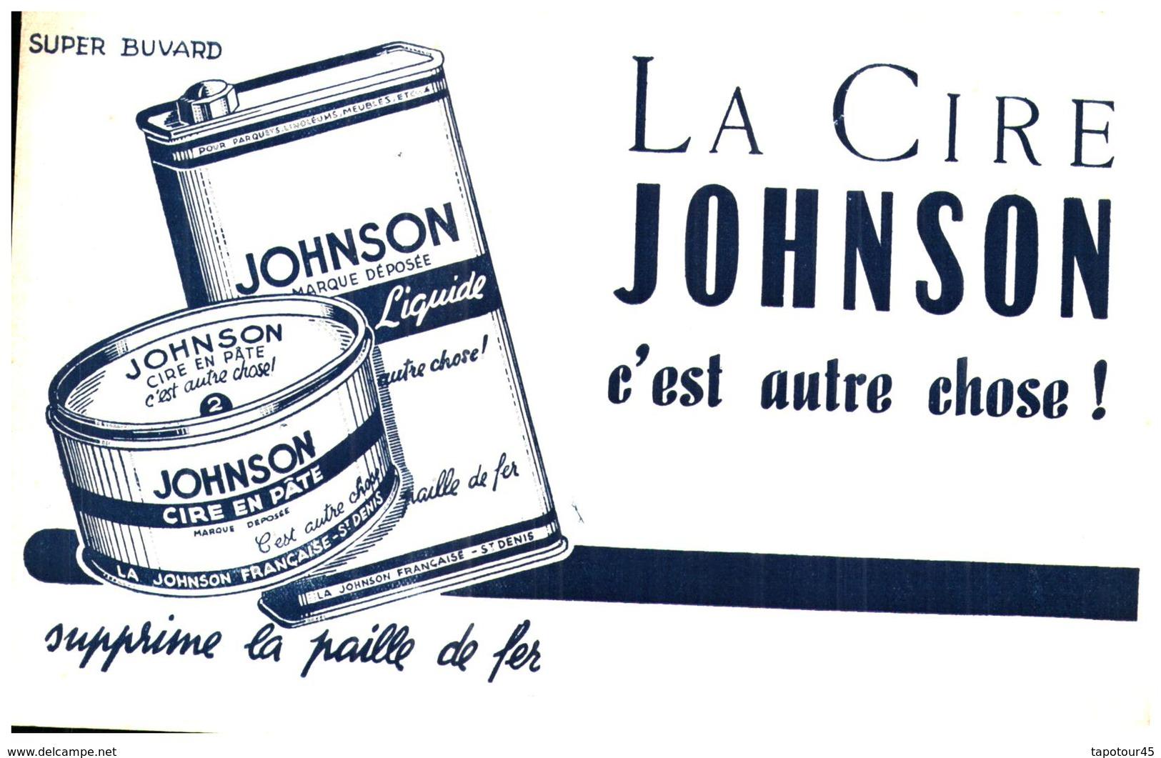 C J/Buvard Cire Johnson (Format 14 X 21) (N= 1) - C
