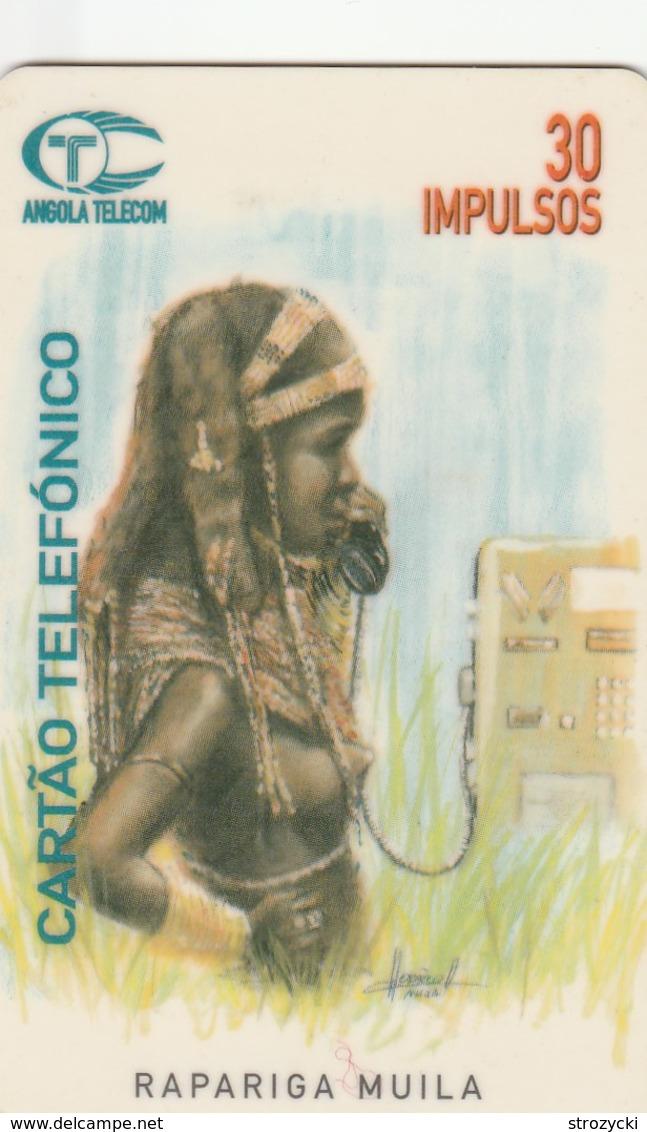 Angola - Rapariga Muila - Angola