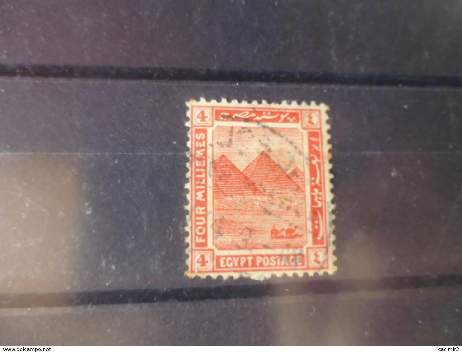 EGYPTE  YVERT N°47 - 1915-1921 Protectorat Britannique