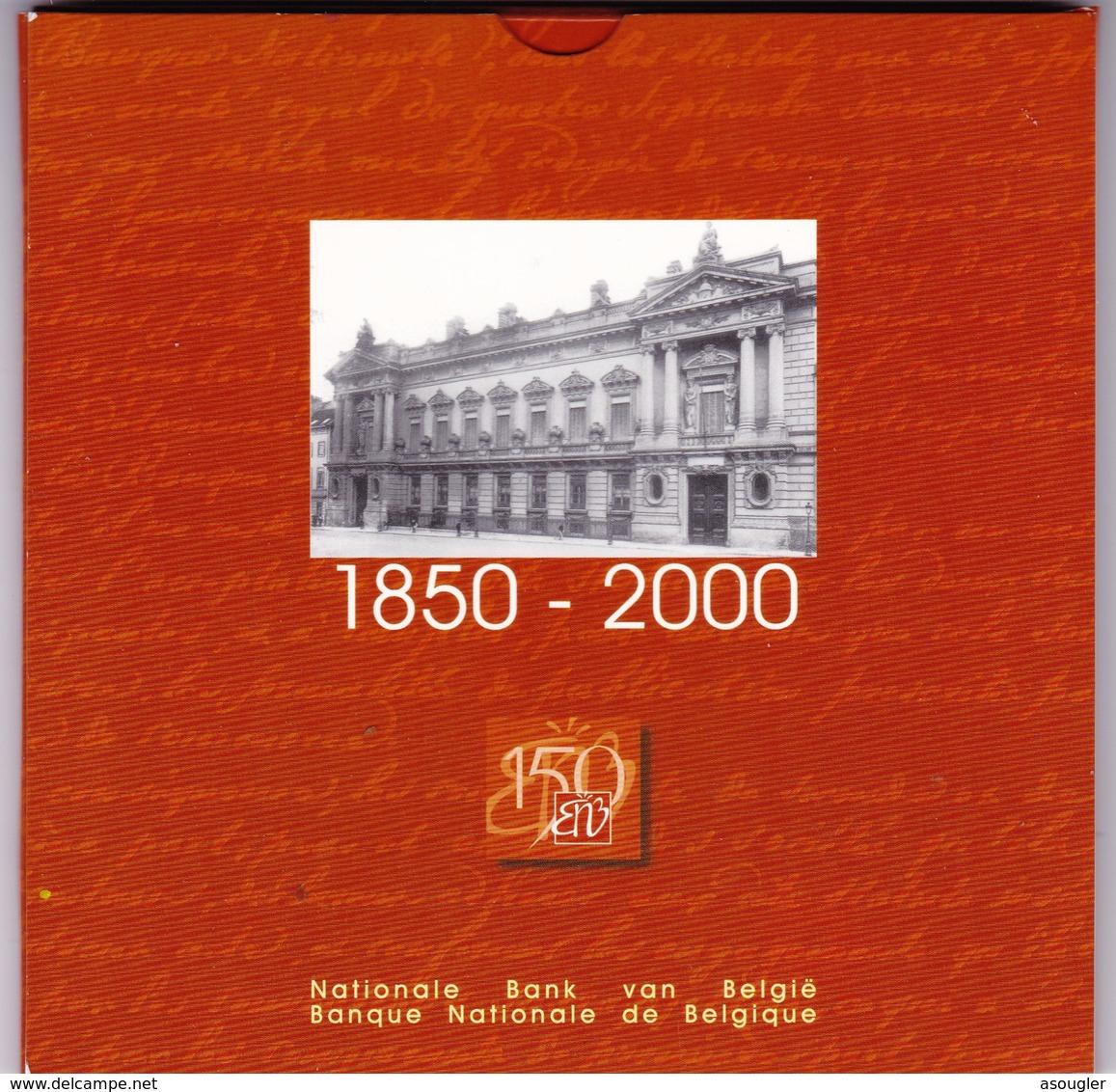 "BELGIUM OFFICIAL SET 2000 BU ""free Shipping Via Registered Air Mail"" - Belgique"