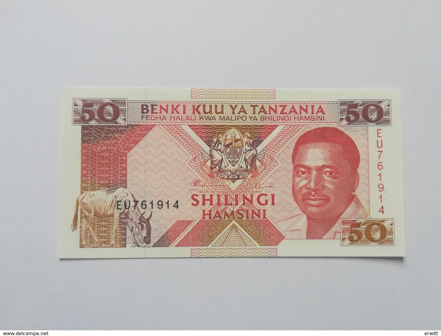 TANZANIA 50 SHILINGI 1993 - Tanzanie