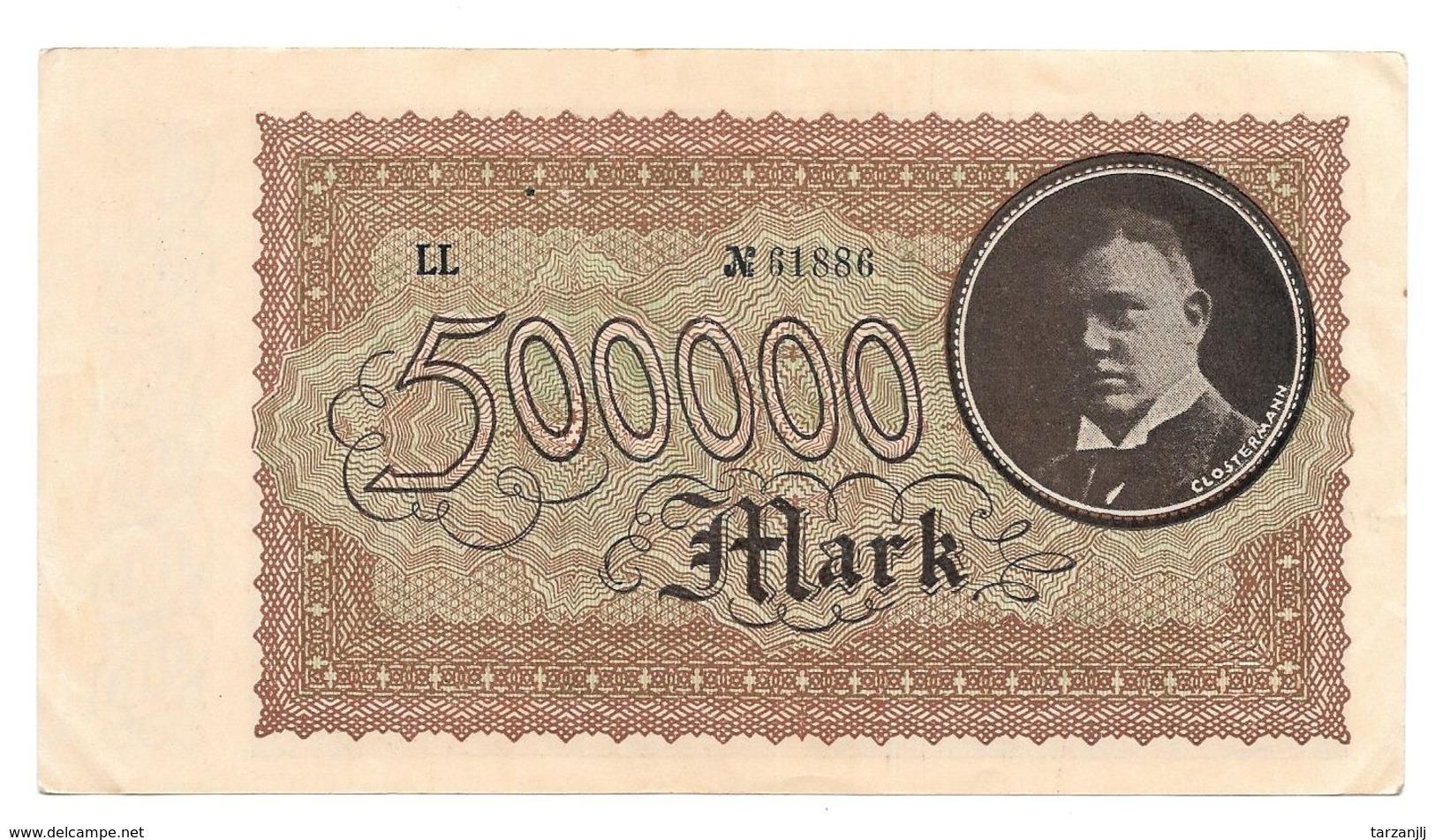 Billet De 500000 Mark 1923 Coblenz Stadt Notgeld - [11] Emissioni Locali