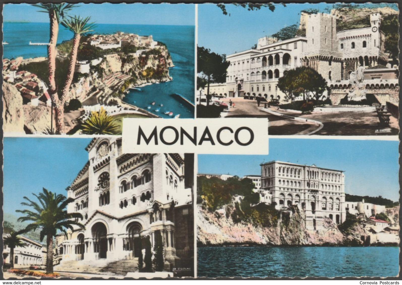 Vue Multiple, Monaco, C.1960s - La Cigogne Photo CPSM - Monaco