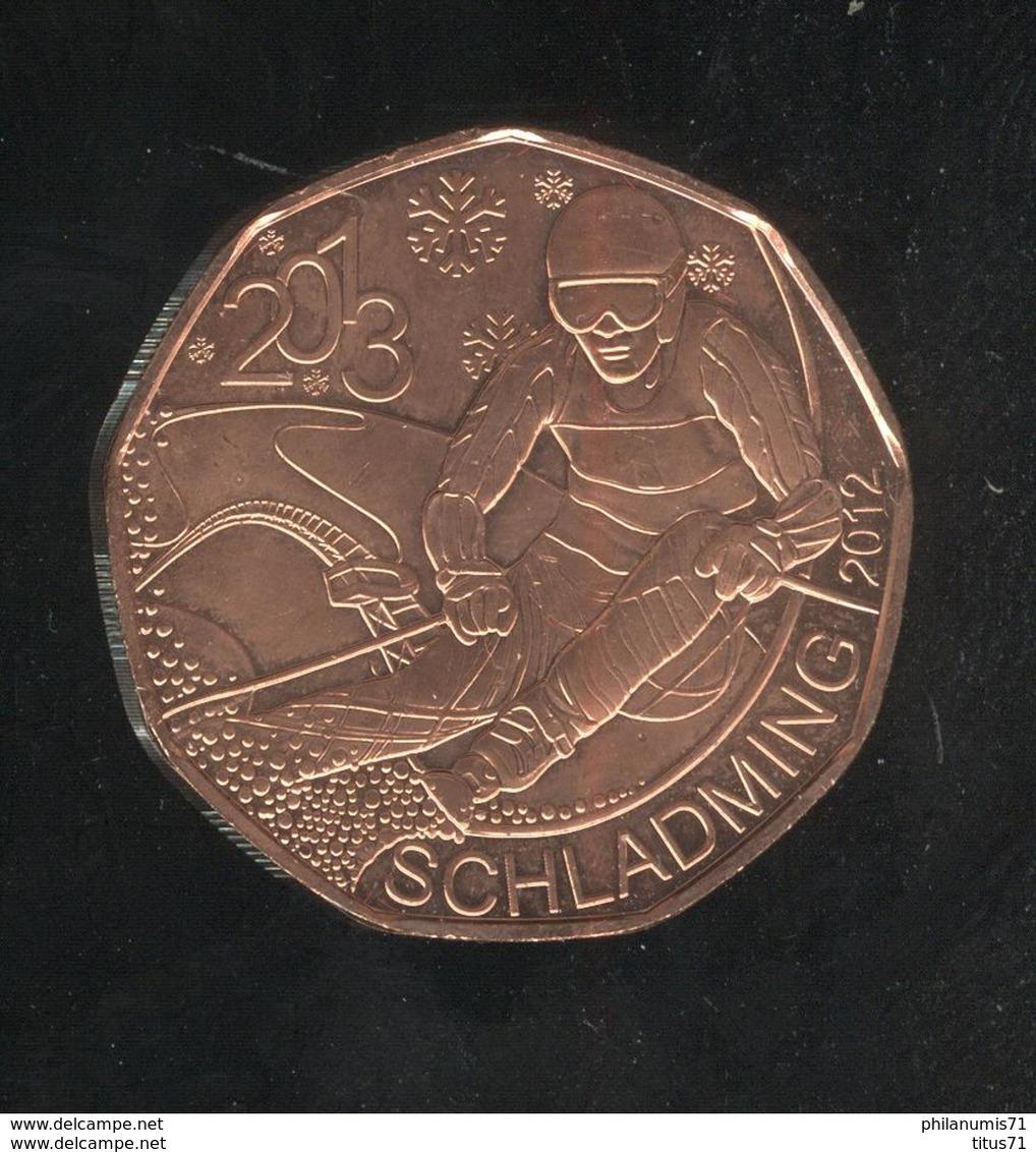 5 Euros Autriche Cuivre 2013 Schladming  UNC - Autriche