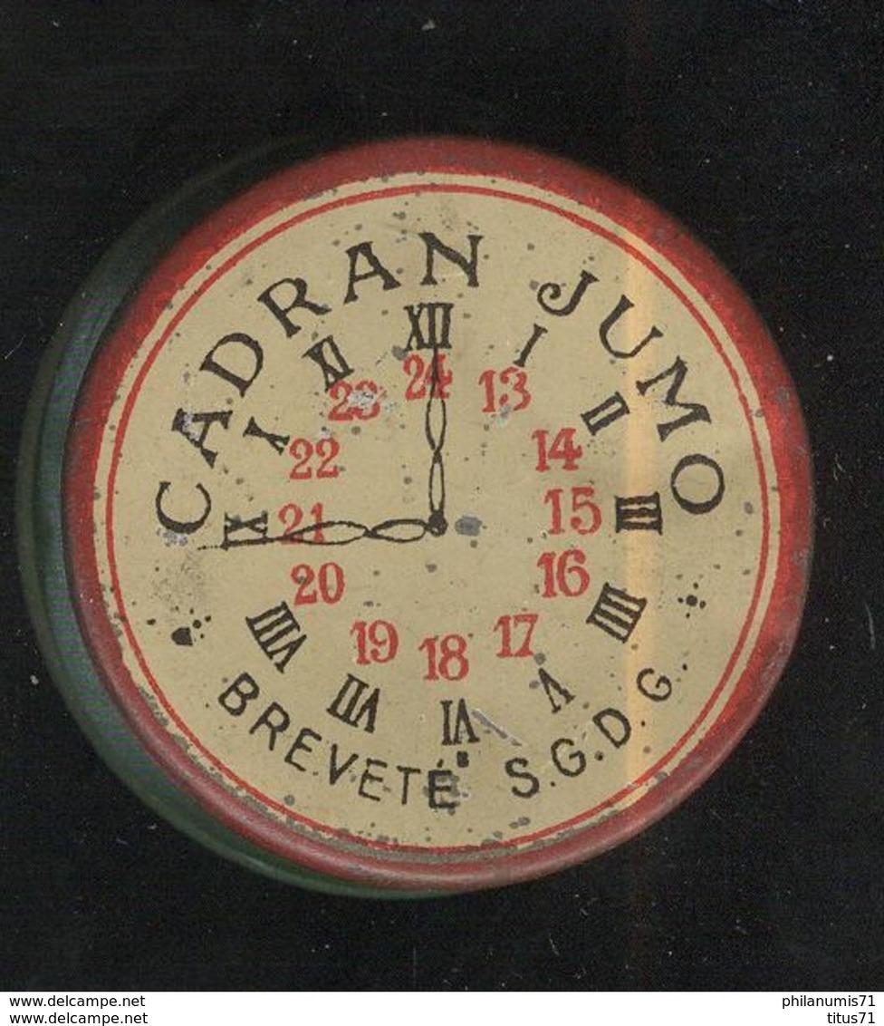Boite Métal Vide Cadran Jumo - Pièce Détachée Pour Montre - Bijoux & Horlogerie