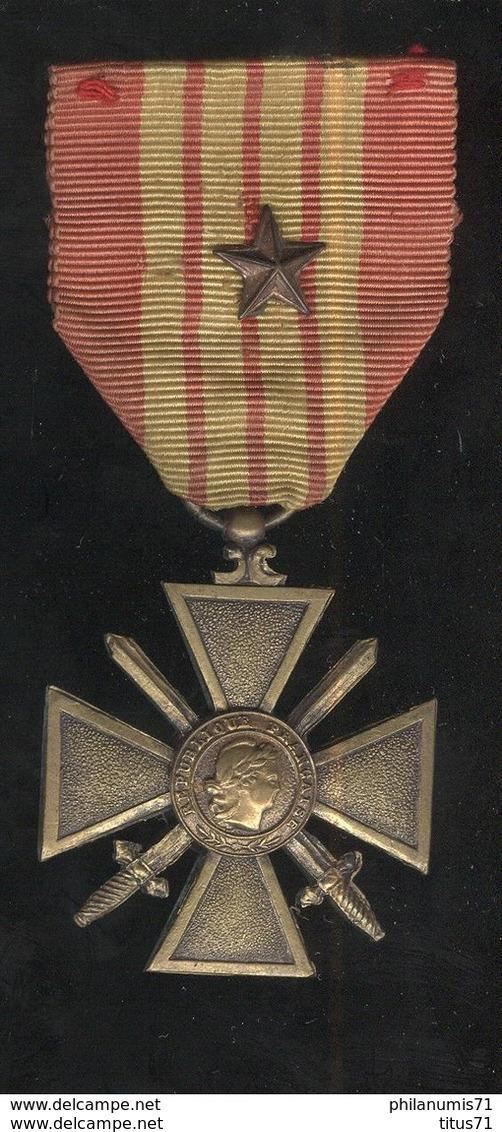 Médaille Croix De Guerre 1939-1945 - Frankrijk