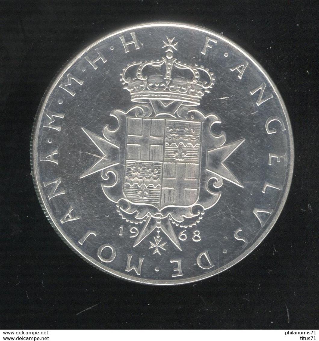 3 Scudi Ordre De Malte / Malta Order FAO 1968 - Prooflike -  TTB - Malte (Ordre De)