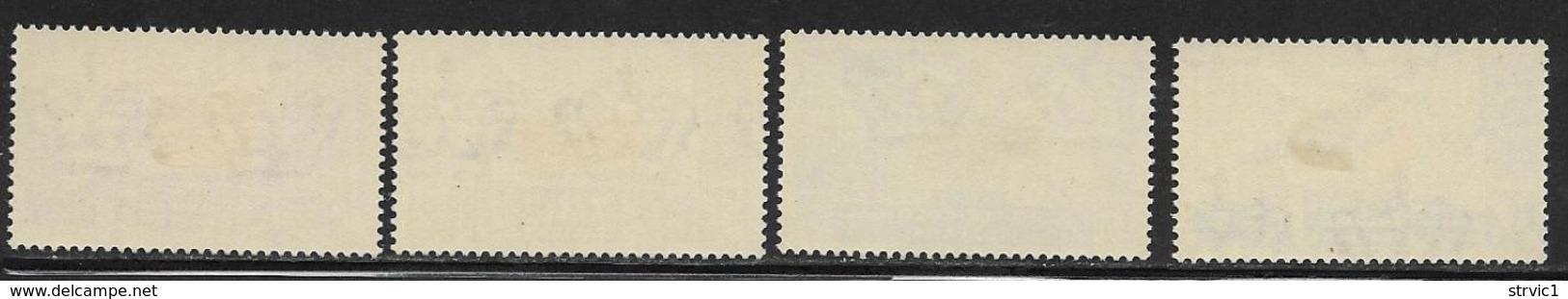 Italian Colonies Scott # C15-8 Mint Hinged Plane,Map, 1933, CV$114.00 - Italy